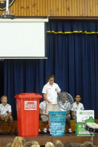 Our Recycling presentation for assembly